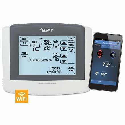 Aprilaire MODEL 8910W WiFi Thermostat with IAQ Control