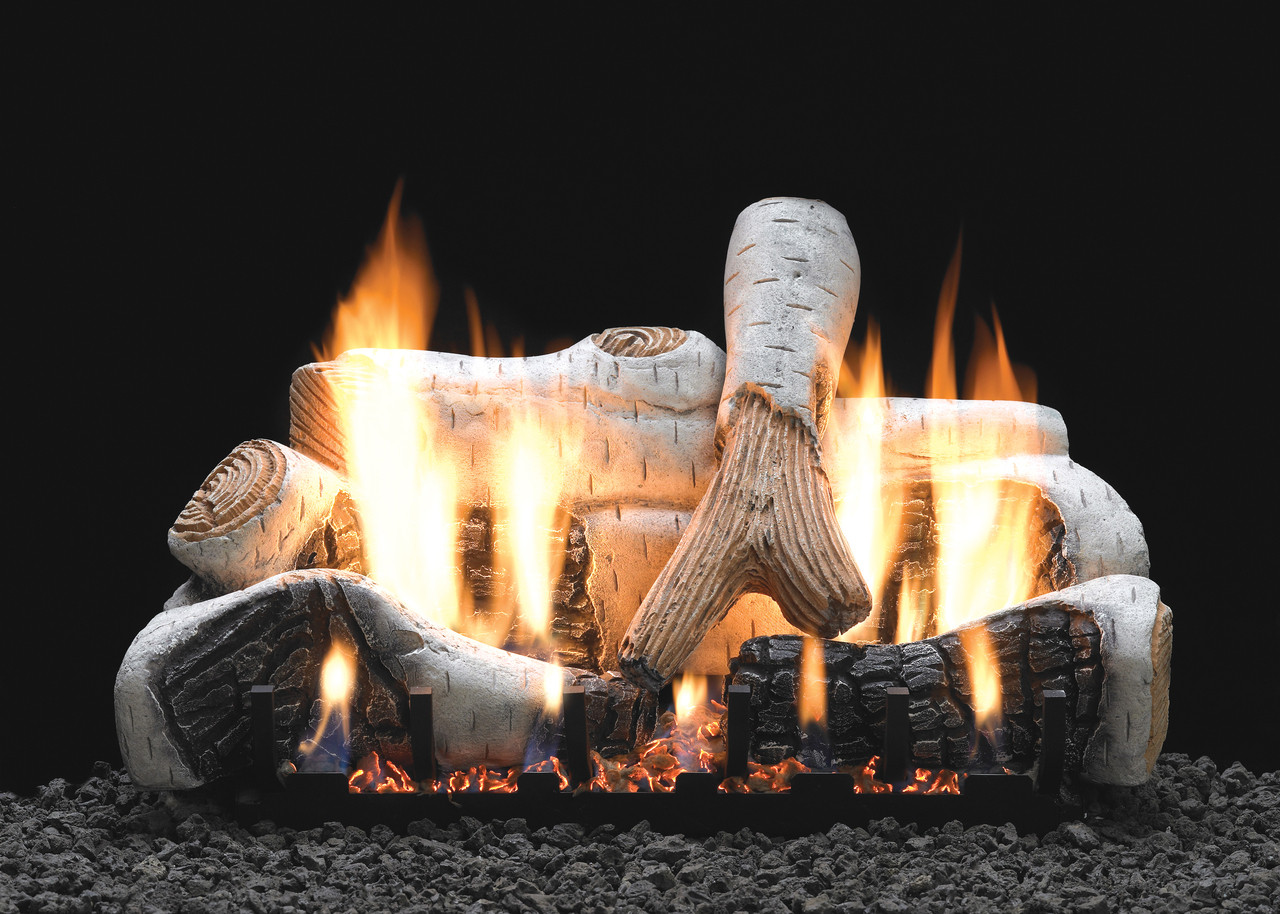 "White Mountain Hearth LS-18B2 18"" Birch Log Set"