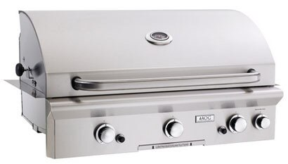 """American Outdoor Grill 36PBT 36"""" Built-In Liquid Propane Grill with Rotisserie"""
