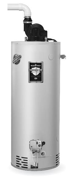 Bradford White RG2PV75S6N 75 Gallon, Power Vent Water Heater, Natural Gas