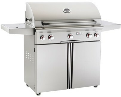 """American Outdoor Grill 36PCL 36"""" Portable/Freestanding Liquid Propane Grill with Rotisserie"""