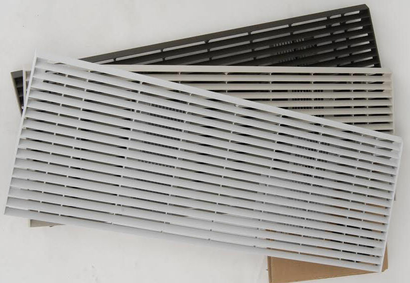 """Amana PGK01WB 42"""" One-Piece Injection Molded Grille - White"""