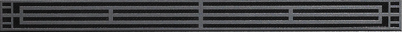White Mountain Hearth DVG1MBL Mission Louvers in Matte Black