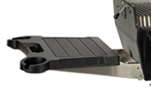 Broilmaster SKFB2 Black Drop-Down Side Shelf with Stainless Bracket