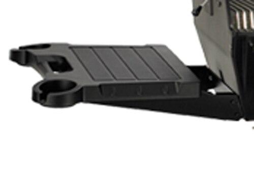 Broilmaster SKFPB2 Black Drop-Down Side Shelf with Black Bracket