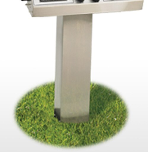 Broilmaster SS48G Stainless Steel In-Ground Steel Post