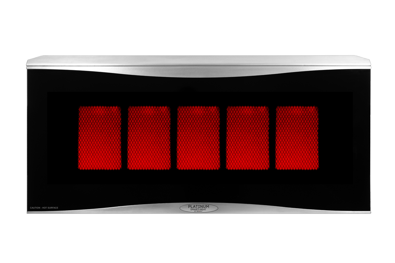 Bromic Heating BH0110003-1 Platinum Smart-Heat 500 Series Gas Heater - Natural Gas
