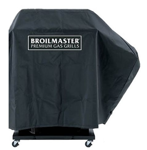 Broilmaster DPA109 Full Length Premium Grill Cover - 1 Side Shelf