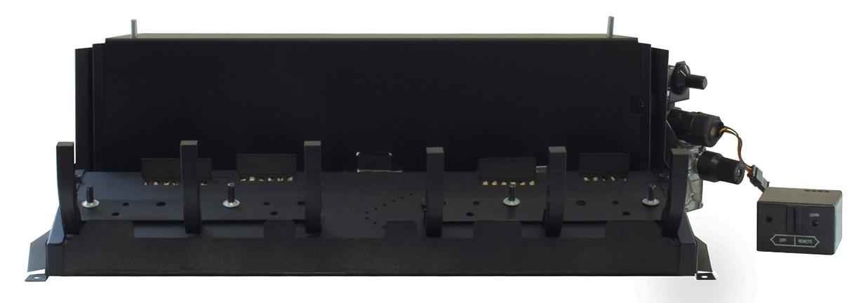 "White Mountain Hearth VFSV-16LP 16"" Variable Flame Valve Vented/Vent Free Slope Glaze Burner - Liquid Propane"