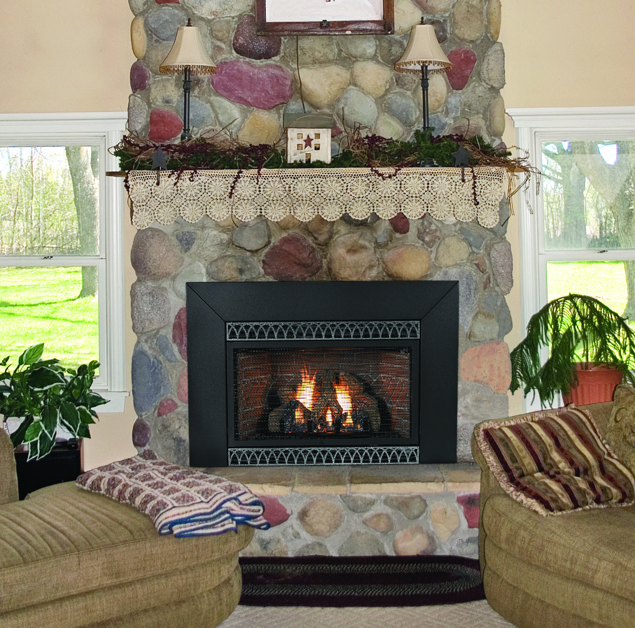 White Mountain Hearth Vfp20in23l Innsbrook Vent Free Fireplace Insert