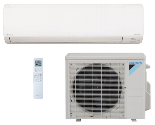 Daikin FTX30NVJU / RX30NMVJUA 30000 BTU Class Sky Air Single Zone System with Heat Pump
