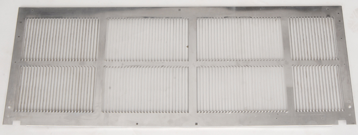 Amana SGK01B Standard Stamped Aluminum Grille. A Grille is required for new installation.