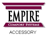 Empire Comfort Systems PVSDV35A DV35 Vent Transition Cap