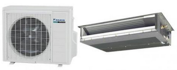Daikin FDXS12LVJU / RXS12LVJU 11500 BTU Slim Duct Ceiling Heat Pump Mini Split