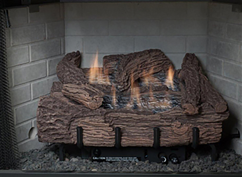 "Everwarm EWPO24R 24"" Palmetto Oak Log Set"