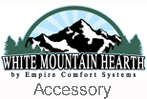 "White Mountain Hearth VFSUR-18P 18"" Vista Millivolt Valve Vented/Vent Free Slope Glaze Multi-Side Burner - Liquid Propane"