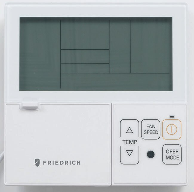 Friedrich DWC-2 Digital Programmable Wired Wall Thermostat