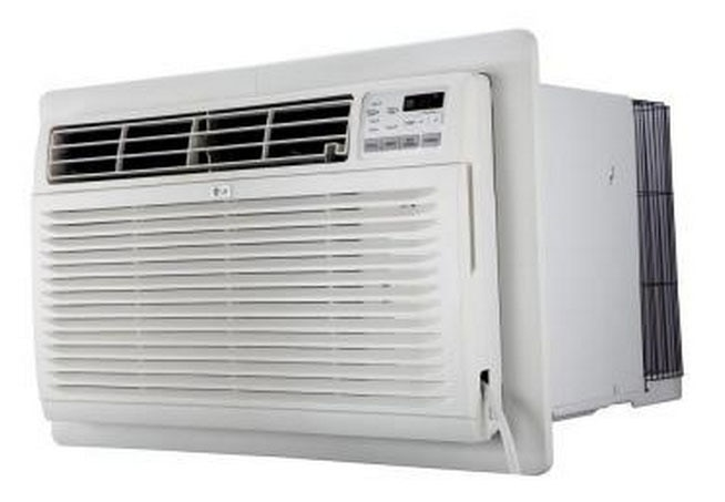 LG LT1237HNR 11000 BTU Cooling, Through the Wall Air Conditioner With Heat - 208/230 Volts