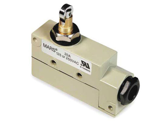 Mars 99-014 Steel Mechanical Universal Surface-Mounted Plunger/Roller Switch