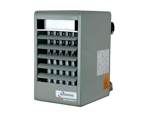 Modine PDP150 150,000 BTU Vertical Powered Vented Unit Heater, 115V