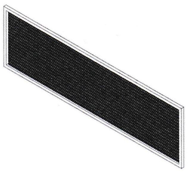 Mars STD2-FLTR Aluminum Mesh Filter for Standard Air Curtains