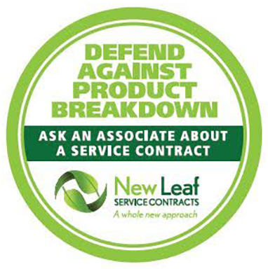 New Leaf APP5U1500 5 Year Extended Service Warranty for Major Appliances - Terms and Conditions Apply