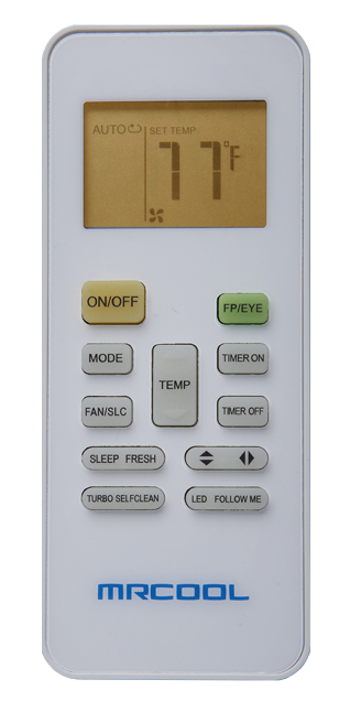 Mr. Cool Replacement Remote/Controller for DIY Mini Split Systems