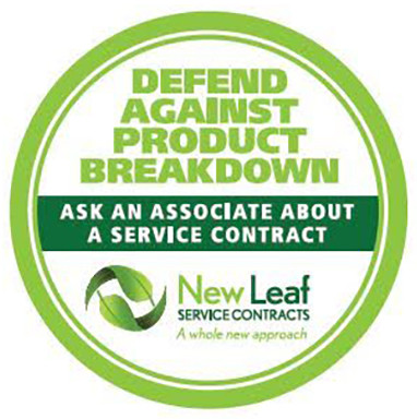 New Leaf CAPP3U1500 3 Year Extended Service Warranty for Major Appliances/Commercial Use - Terms and Conditions Apply