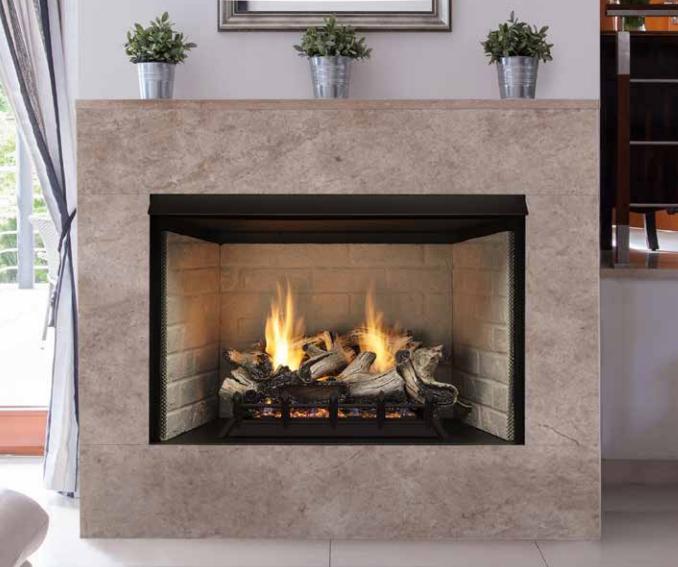 Monessen Fiber Ceramic Gas Log Manual Safety Pilot Valve Decorativ Log Cover New