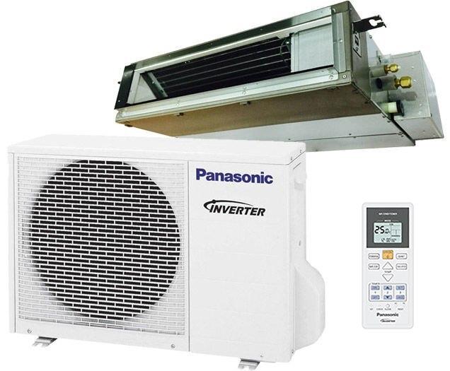 Panasonic E9SD3UA 9000 BTU Low Profile Ducted Ceiling Single Zone Mini-Split System - Energy Star