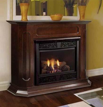 Monessen BWC500-U-A Barrington Adjustable Wood Cabinet Surround - Unfinished