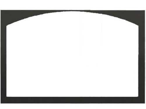 """Monessen DLD36CDFBT 36"""" Cabinet Door Frame in Textured Black"""