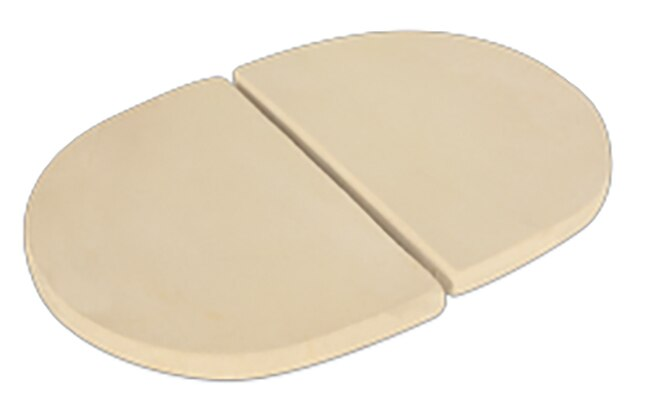Primo PRM325 Ceramic Heat Deflector Plates for Oval 200 Series Grill