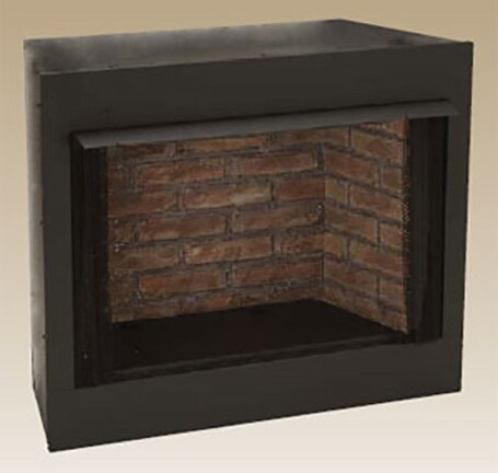 """Monessen GRUF32CF 32"""" Vent-Free Firebox with Cottage Clay Liner"""