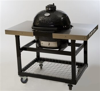 Primo PRM369 Stainless Steel Side Tables for Oval 300 Grill Cart