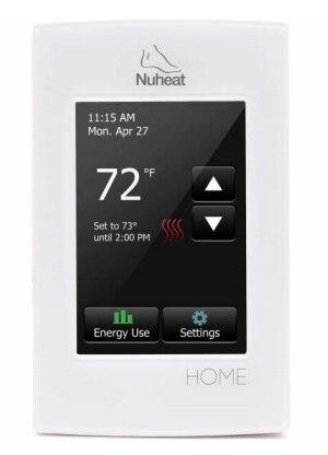 Nuheat HOME 7-Day Programmable Floor Heat Sensing Thermostat