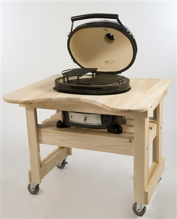 Primo PRM605 Compact Cypress Table for Oval 200 Grill