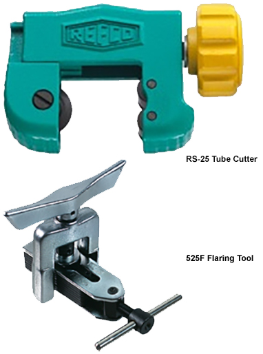 Refco RS-25 Tube Cutter and 525-F Flaring Tool Combination Pack