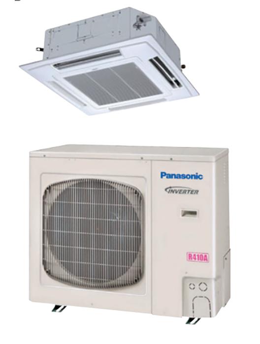 Panasonic 36PEU2U6 32600 BTU Recessed Ceiling Single Zone Mini Split System