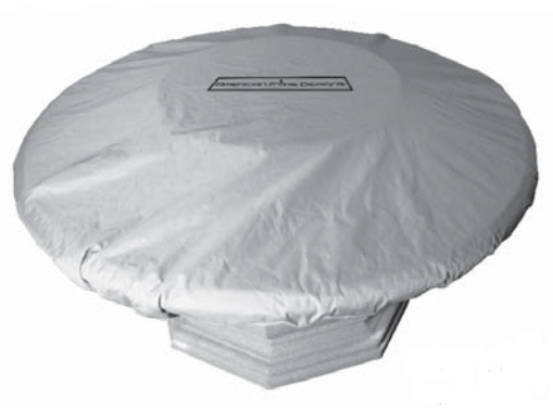 American Fyre Designs 8100SD Inverted Fire Table Cover in Sedona