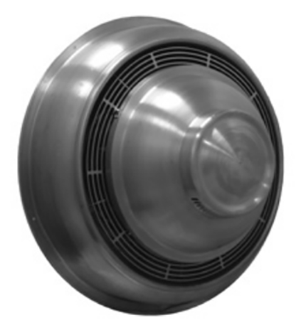 """S & P CWD07HH1AS Direct Drive Centrifugal Sidewall Exhauster -  7"""" Wheel, 115 Volt"""