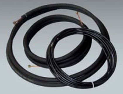 """THS 143825WIRE Line Set with Wire for Ductless Mini Split Air Conditioning Systems - 1/4"""" x 3/8"""" x 1/2"""" Insulation x 25'"""