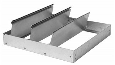 S & P 611036 36 Inch Gravity Damper for Roof Exhausters