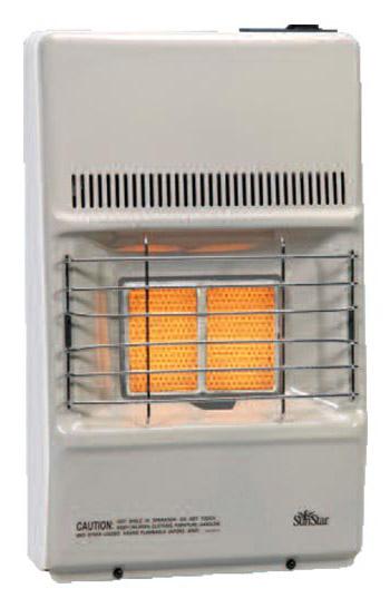 SunStar SC10T-1-LP 8,500 BTU Thermostatic Vent Free Infrared/Radiant Heater - LP