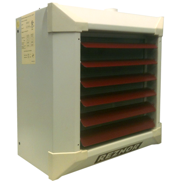 Reznor WS140/175 Horizontal/Vertical Suspended Hydronic Unit Heater, for Hot Water Use
