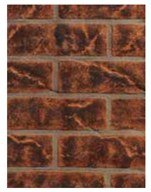 Superior ABLK33V Vintage Red Brick Ceramic Liner Kit