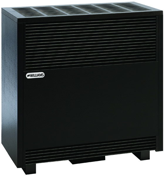 Williams Furnace Company 5001A 50,000 BTU Vented Hearth Heater with Enclosed Front