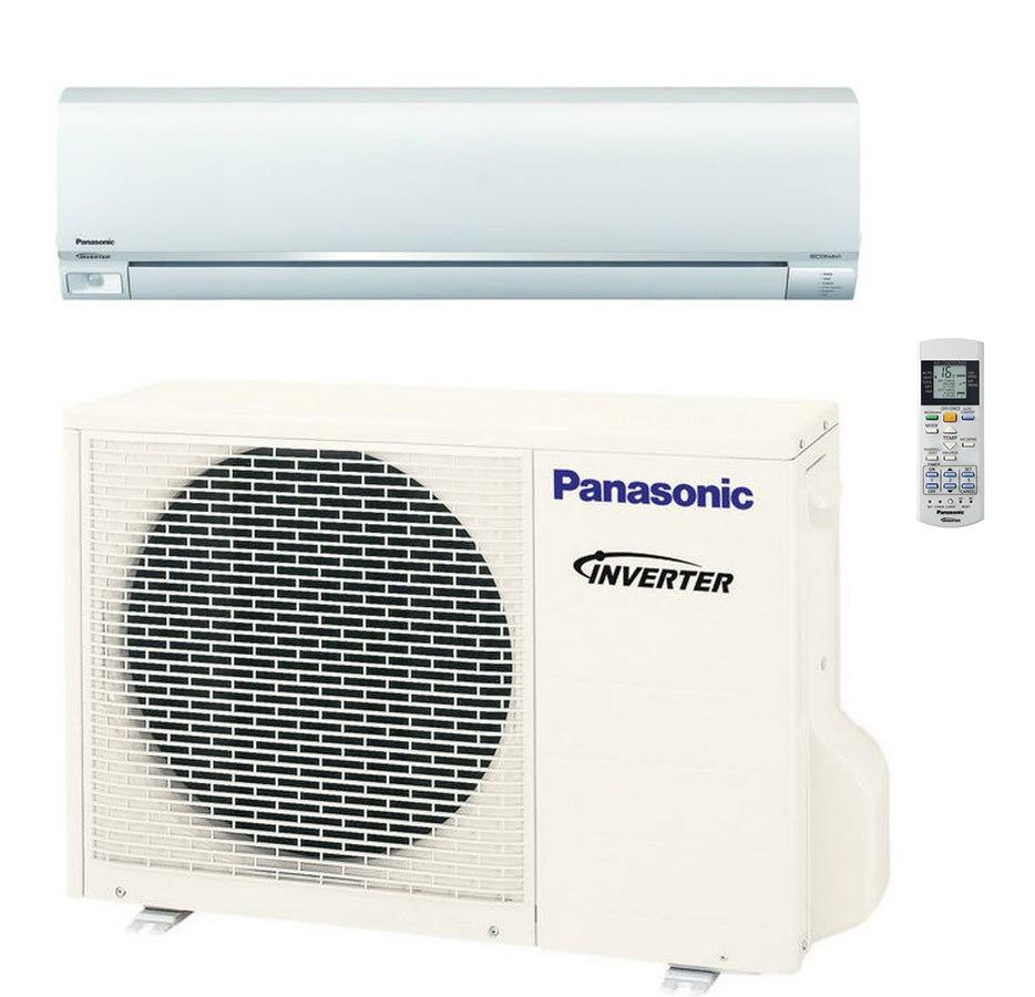 Panasonic E18RKUA 17200 BTU Single Zone 19.5 SEER System with EcoNavi - Heat Pump