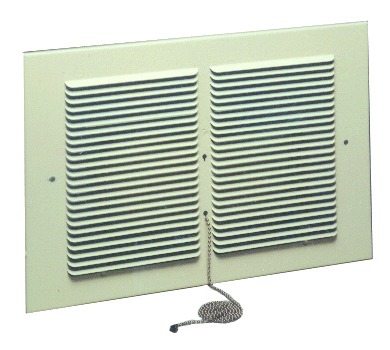 Williams Furnace Company 6901 Rear Outlet Register for Monterey Single-Sided Furnaces