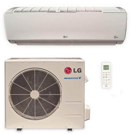 LG LS180HSV5 18000 BTU High Efficiency Single Zone Mini Split System with Built-In WiFi